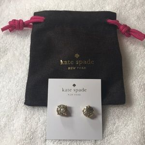Kate space stud earrings
